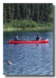 Taking your canoe down the river